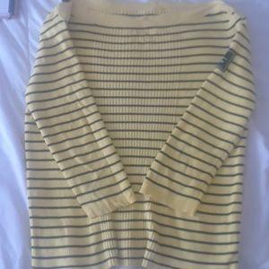 Ralph Lauren off the shoulder sweater